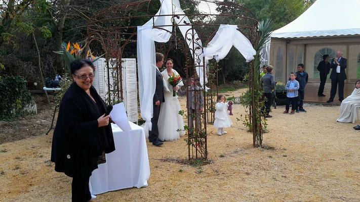Christine Bergerac Officiant de cérémonie laïque Gard et Hérault