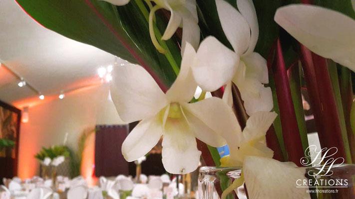 Fleurs exotiques mariage