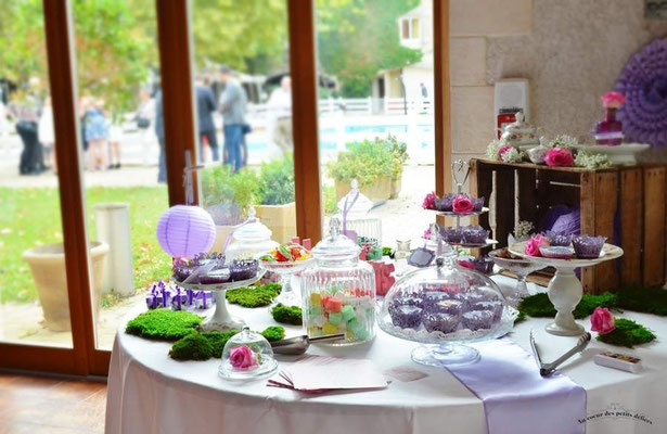 Candy bar Mariage Vintage
