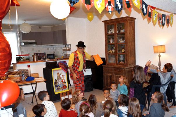 animation magicien anniversaire enfant