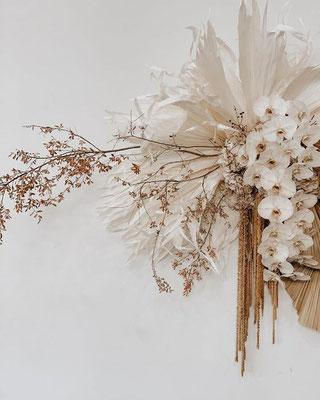 Bouquet Mariage Exotique Minimaliste Moderne