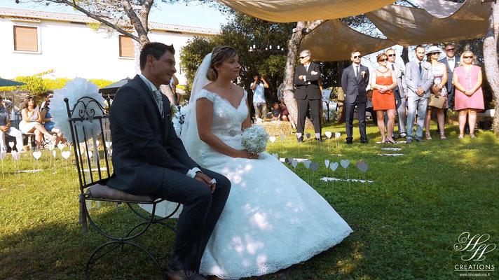 mariage au domaine de Fontbespierre