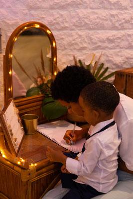 mariage exotique livre d'or