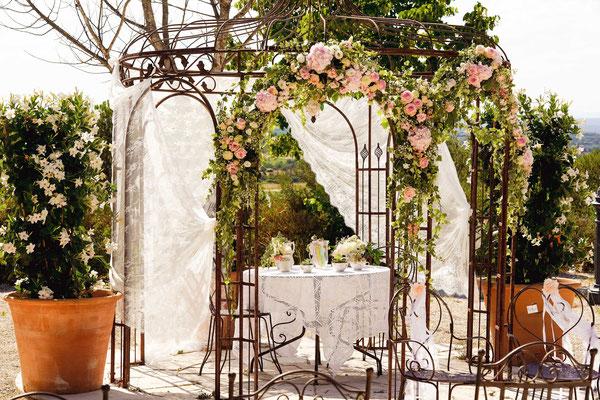 Wedding planner et décoratrice dans le Sud de la France