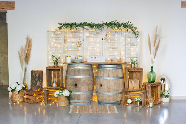 wedding designer sud de la france mariage champêtre chic