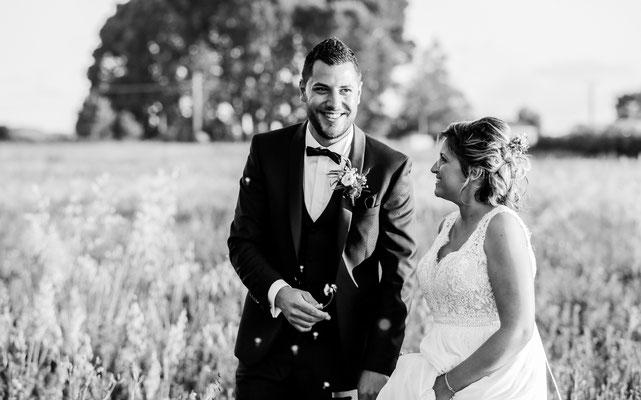 Mariage champêtre chic photographie Aline Ruzé