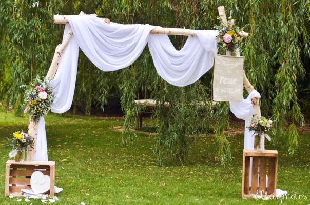 décoratrice mariage bohème chic