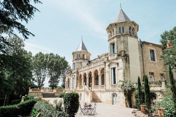 Château Occitanie Hérault Mariage