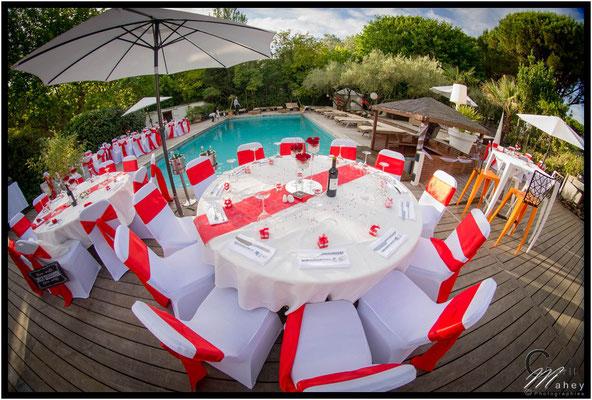 décoration wedding planner mariage Le Prose la Grande Motte
