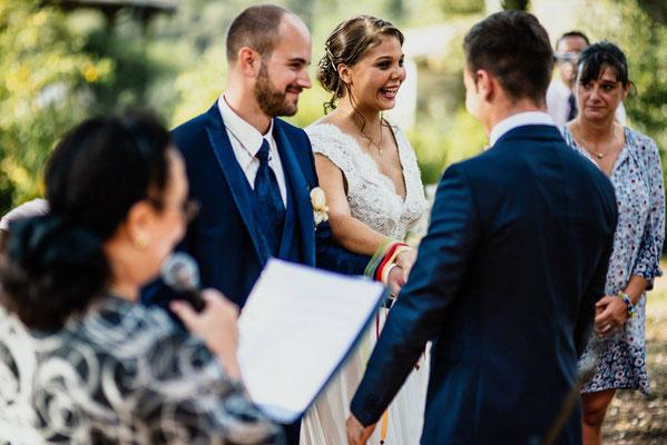 Mariage rituels rubans