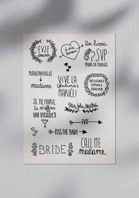 tattoos mariage champêtre