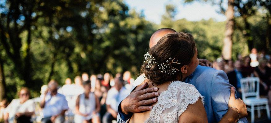 Wedding Nature cerf