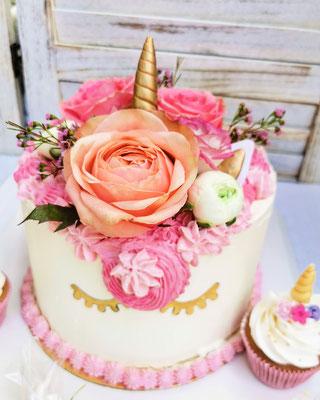 gâteau licorne anniversaire enfant