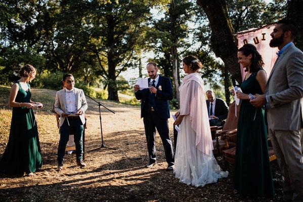 cérémonie laïque mariage le petit chaperon rouge