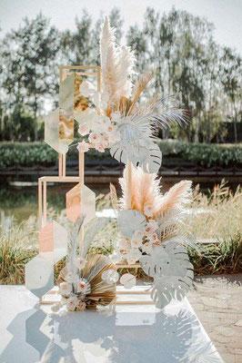 Décoration Florale Exotique Minimaliste Moderne