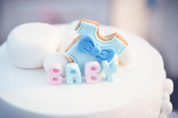 gâteau bébé gender cake