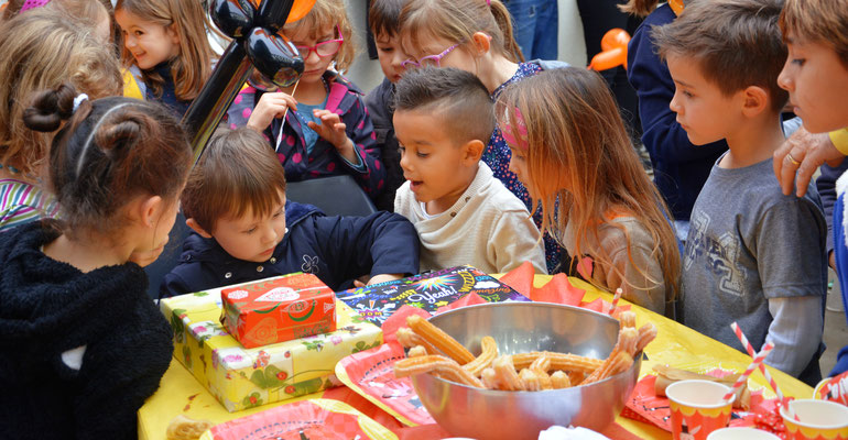 organisation d'anniversaire enfants