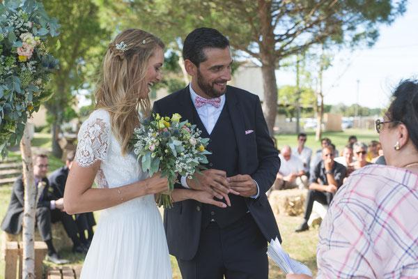 Officiante de cérémonie mariage Montpellier