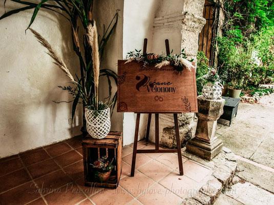 Panneau de bienvenu - Mariage champêtre rustique chic
