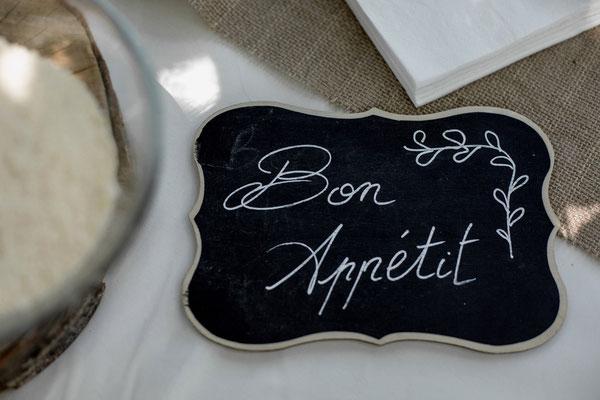 ardoise mariage bon appétit