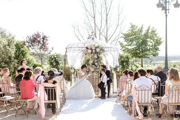 Inspiration mariage romantique floral chic