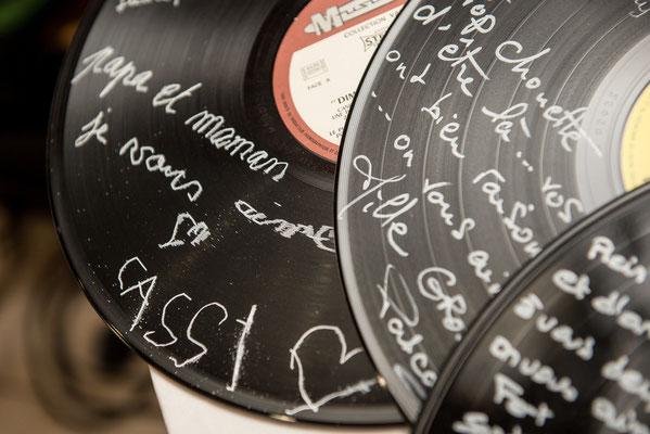 vinyl mariage