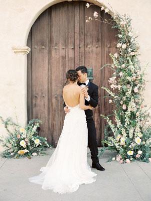Mariage romantique minimaliste