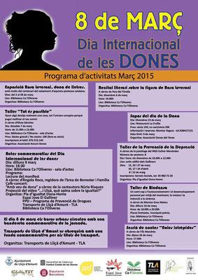 Biodansa Montse. Sessión Día internacional de la Mujer