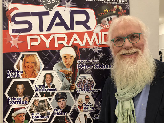 """Foto: Petra Schweim - 33. STAR Pyramide """"Jedes Jahr gelingt es Organisator und Freund Peter Sebastian, ein tolles und abwechslungsreiches Programm auf die Beine zu stellen."""""""
