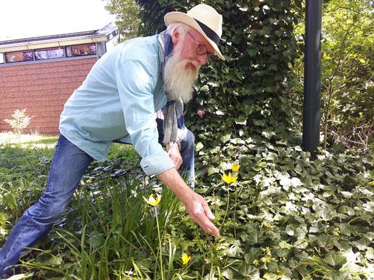 Loki Schmidt Stiftung - Gartenbotschafter John Langley - Foto: Petra Schweim