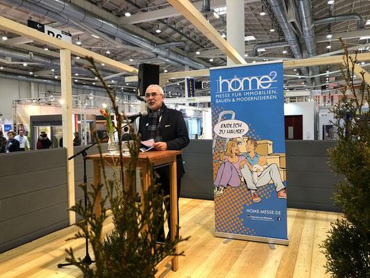 HOME² in Hamburg - Bernd Aufderheide, Vorsitzender der Geschäftsführung Hamburg Messe und Congress