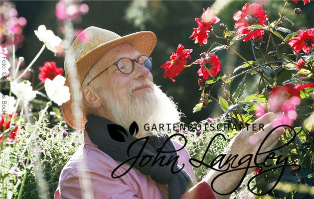 Foto: Andreas Bock - Gartenbotschafter John Langley