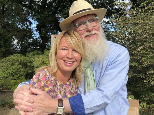 Foto: Petra Schweim - Imke Riedebusch mit John