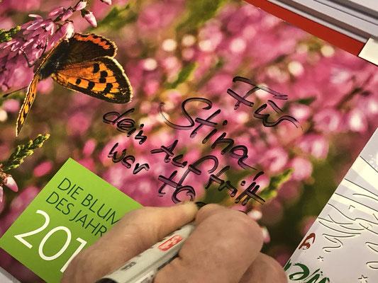 Foto: Petra Schweim - aktueller Kalender 2019 der Loki Schmidt Stiftung