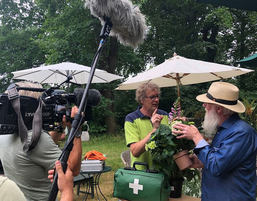 Foto: Petra Schweim - Buchautor&Pflanzenarzt René Wadas