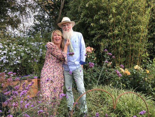 Foto: Petra Schweim: Imke Riedebusch & John Langley ein virtuelles Traumpaar