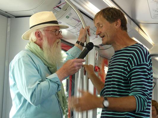 Zug des Wissens mit Jürgen Feder - Foto Petra Schweim