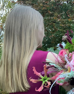Fotoshooting im Namen der Rose mit Marie