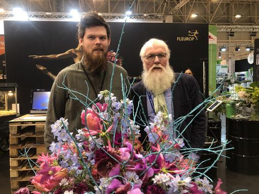 Stephan Triebe ist amtierender Deutscher Meister der Floristen und wird Deutschland beim FTD-Fleurop-Interflora World Cup 2019 in den USA vertreten.