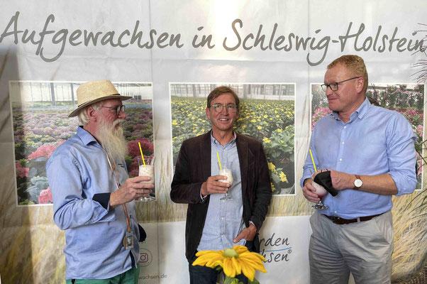 Foto: Petra Schweim - 71. Norla in Rendsburg - Im Norden gewachsen® - Dr. Hans Hermann Buchwald, Malente - Nico Stoltenberg , Schackendorf.