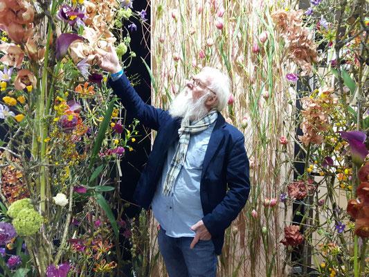 Foto: Petra Schweim - Gartenbotschafter John Langley / IPM in Essen