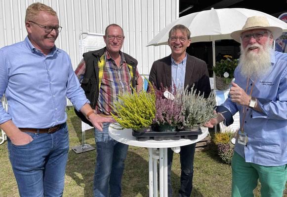 Foto: Petra Schweim - 71. Norla in Rendsburg - Im Norden gewachsen® - Nico Stoltenberg, Klaus Petersen, Hermann Buchwald