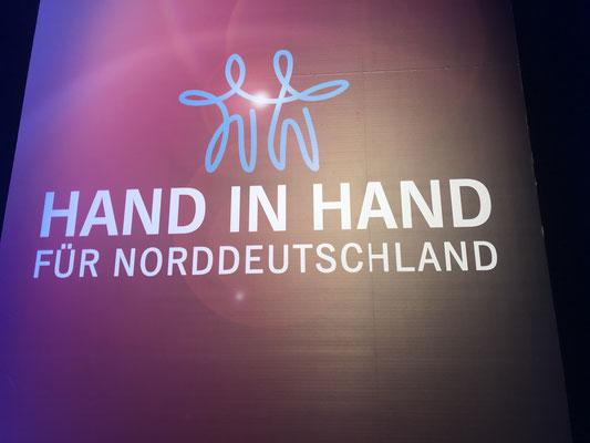 """""""Hand in Hand für Norddeutschland"""" - 2018"""