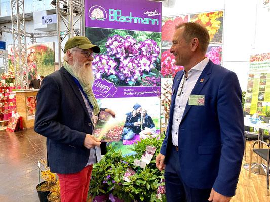 Foto: Petra Schweim - Holger Hachmann (Züchter von Rhododendron)