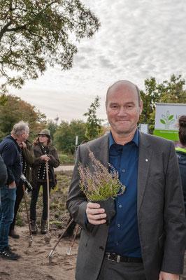 Foto: Hans Werner - GF Axel Jahn der Loki Schmidt Stiftung