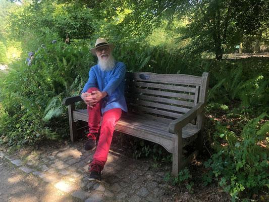 Norddeutsche Gartenschau -  Gartenbotschafter John Langley® - Foto: Petra Schweim