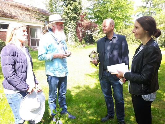 Bienenfreundliche Samen der Loki Schmidt Stiftung - Foto P.S.