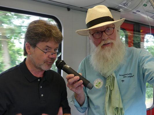 Zug des Wissens - Dr. Carsten Schirarend - Foto Petra Schweim