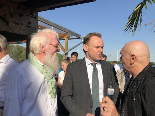 Foto: Petra Schweim / Senator Andy Grote, Senator der Behörde für Inneres und Sport , Peter Sebastian