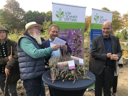 Blume des Jahres - Besenheide Calluna vulgaris -John Langley, Jens Kerstan, Axel Jahn
